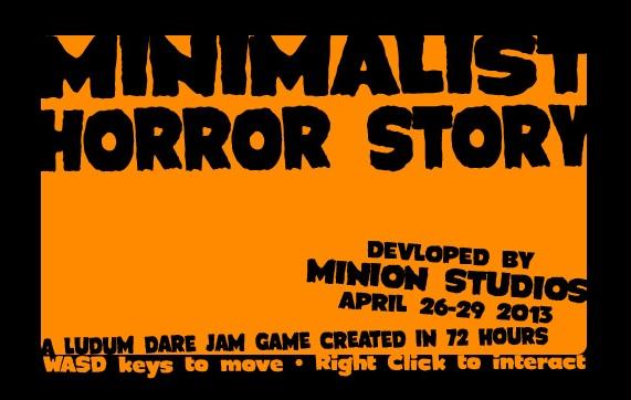 LD #26 Minimalist Horror Story